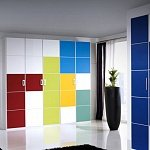 Decorativi applicati: Vitanuova (VERDE KIWI, GIALLO SOLE, ROSSO KNOCKOUT, VERDE EGEO, FRESH BLUE, BLU LIBERTY).